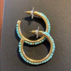 Michael kors earrings, super cute hoops